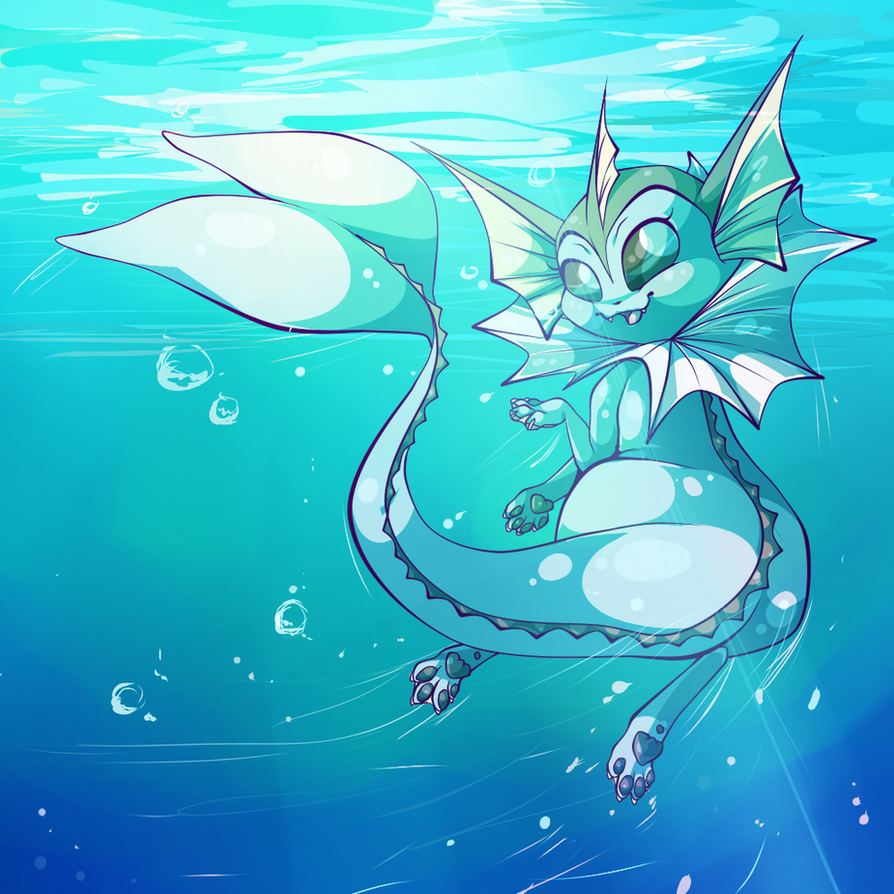 Water Dog by JadeenieBeanies