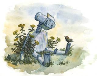 robot by KarolDalaiSarash