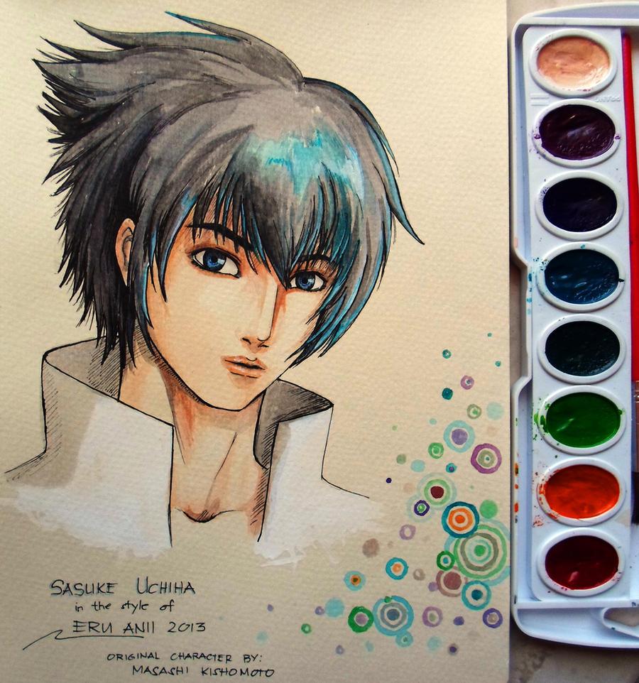 Uchiha Sasuke by EruAnii