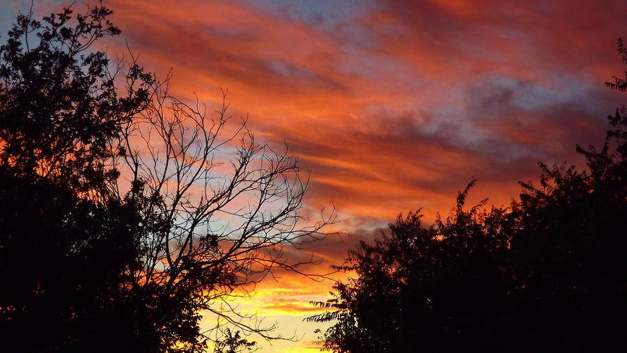 October Sky by Speck2