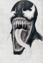 Yawning Venom (*unfinished) by Boredomdoodler