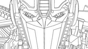 Optimus Prime Sketch