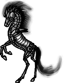 AnnaWolf's Freebies Robot_horse_pose_by_annatiger1234-d677wra