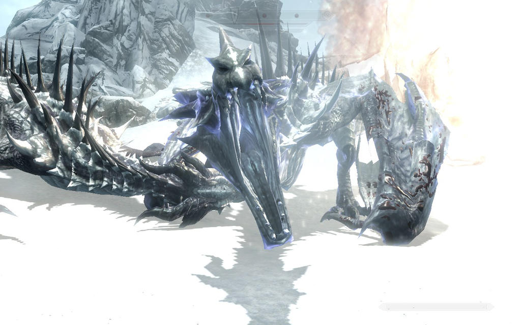 how to kill frost dragon skyrim