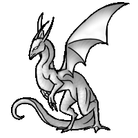 Dragon Rise Pose by Annatiger1234