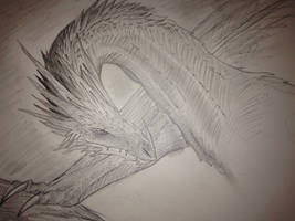 Ancient Dragon WIP by Annatiger1234