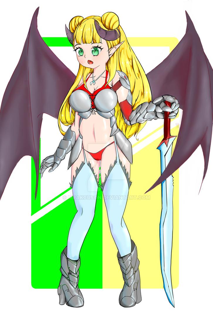 Commission Myriam evil vers by mrakcuson