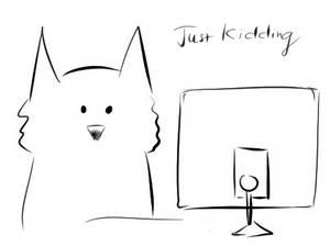 Cat reaction doodle (smug)