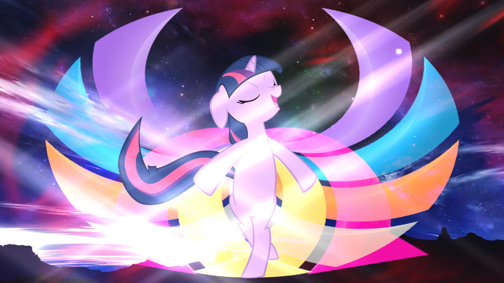 [Wallpaper] Her Wings by Meteor-Venture