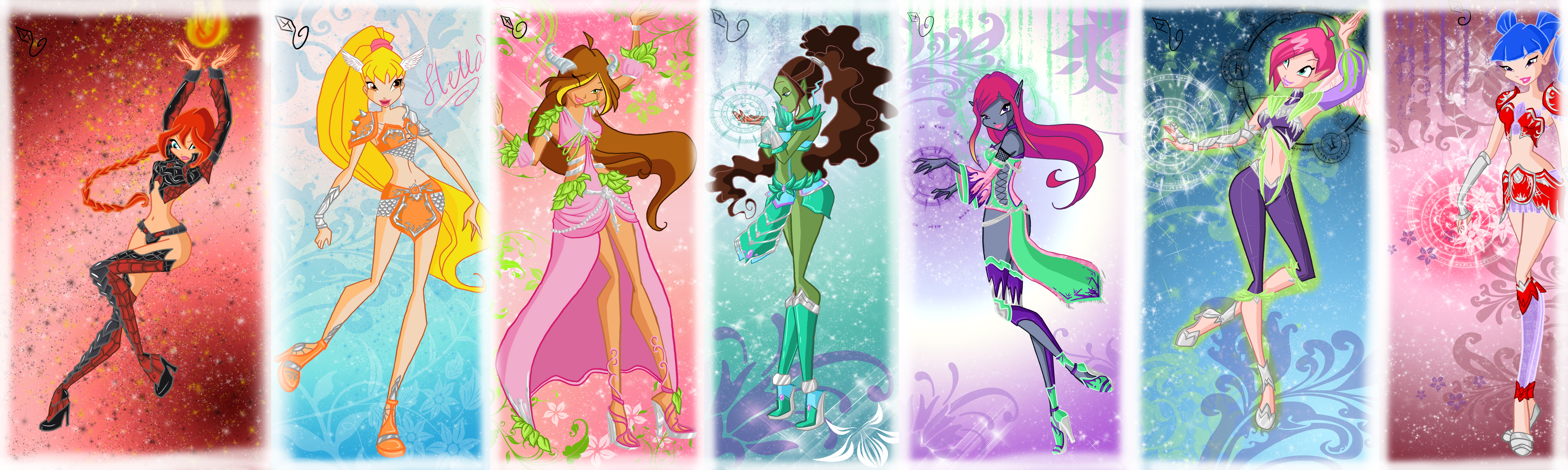 Hinh anh winx for pinterest