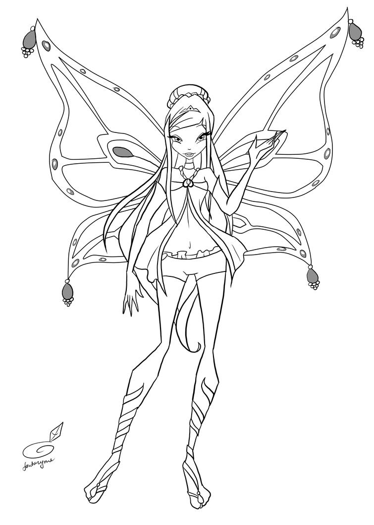 roxy coloring pages - photo#21