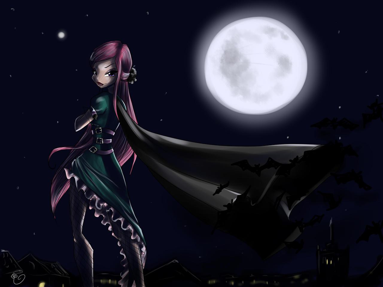 Roxy Happy Halloween by fantazyme