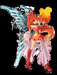 Bloom evil fairy