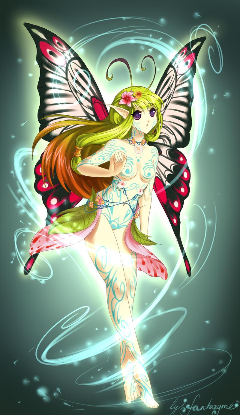 Anime fairy by fantazyme on DeviantArt
