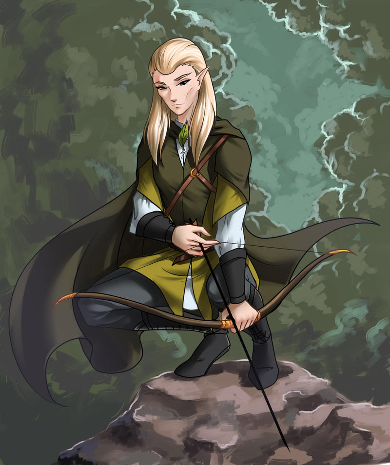 Legolas Wallpaper: Legolas By Fantazyme On DeviantArt