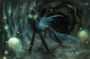 Queen Chrysalis by fantazyme