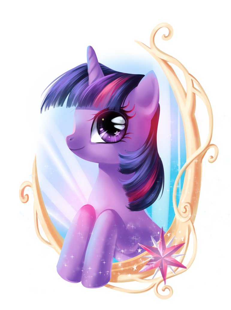 Twilight Sparkle Portrait by fantazyme