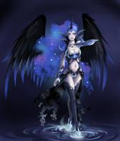 Nightmare Moon Knight.Luna by fantazyme