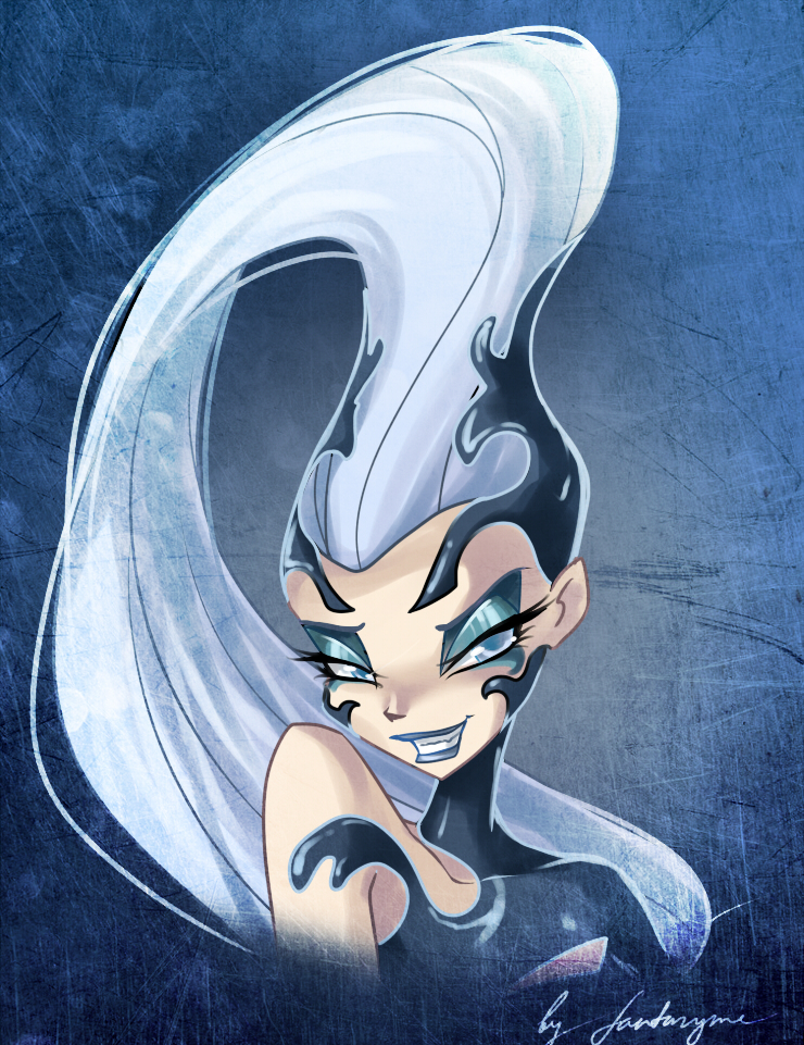 Icy Sirenix portrait by fantazyme