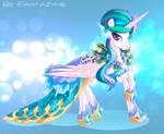 Celestia as Ice Queen