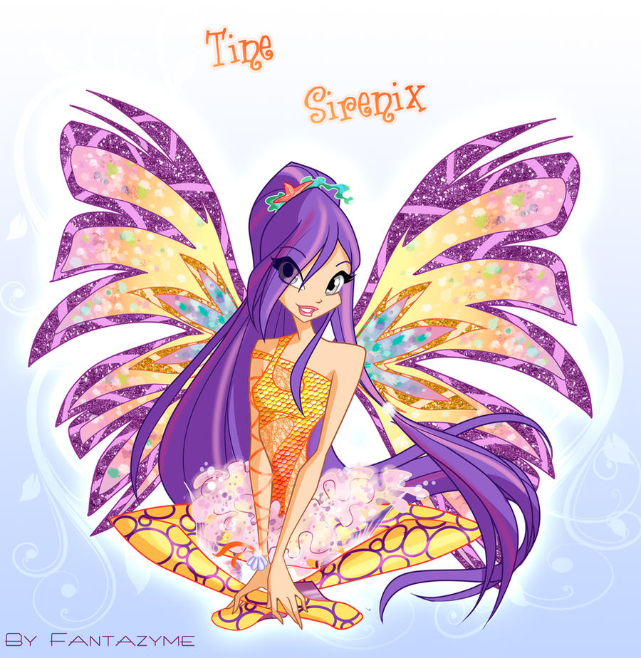 Tine Sirenix Winx by fantazyme