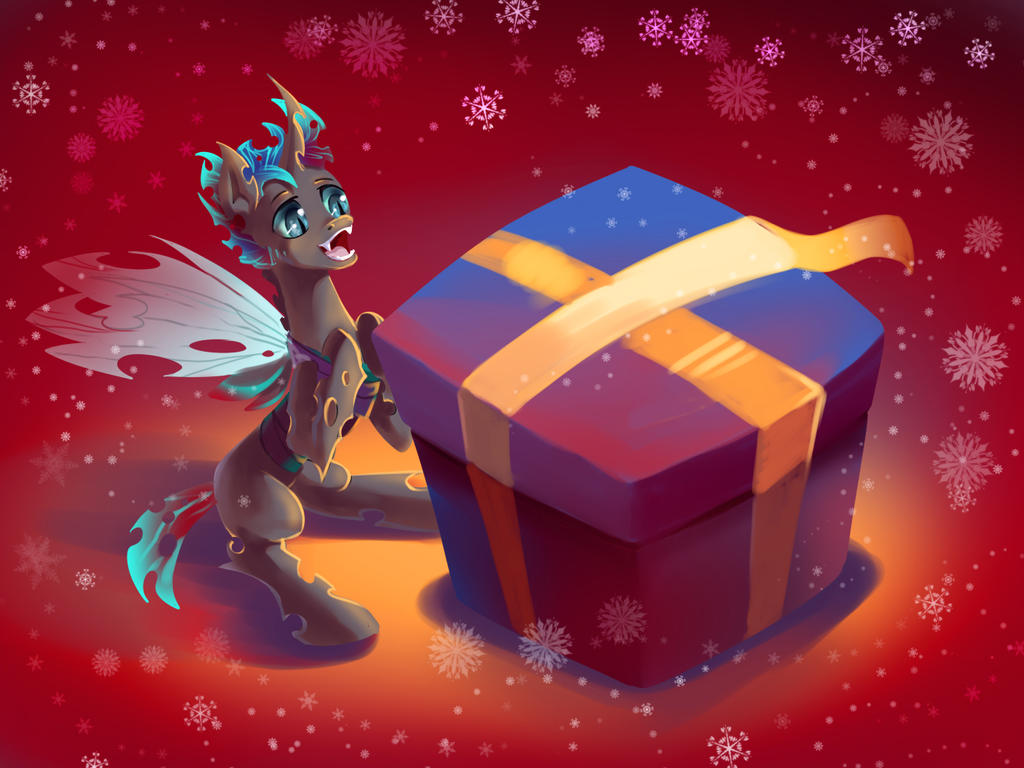 MLP Secret Santa : dmkamikazee by fantazyme