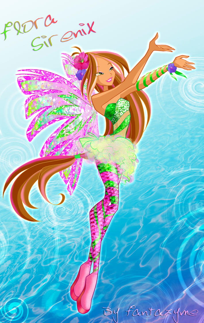 Winx club 5 season Flora Sirenix by fantazyme