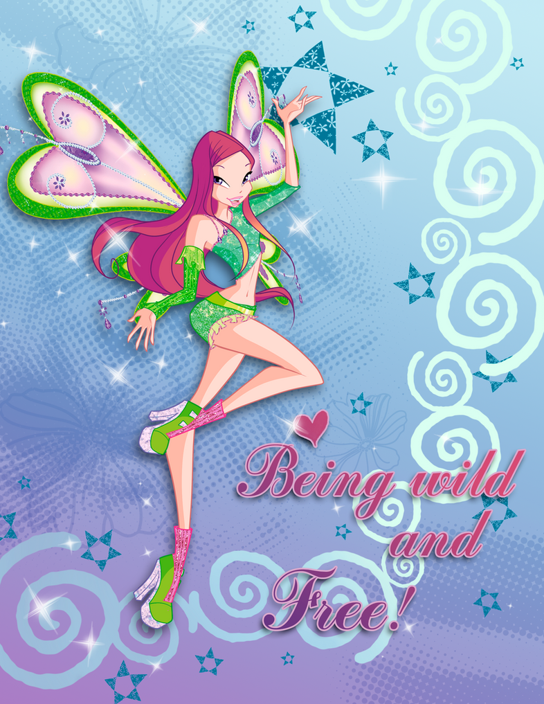 Winx club Roxy believix poster by fantazyme