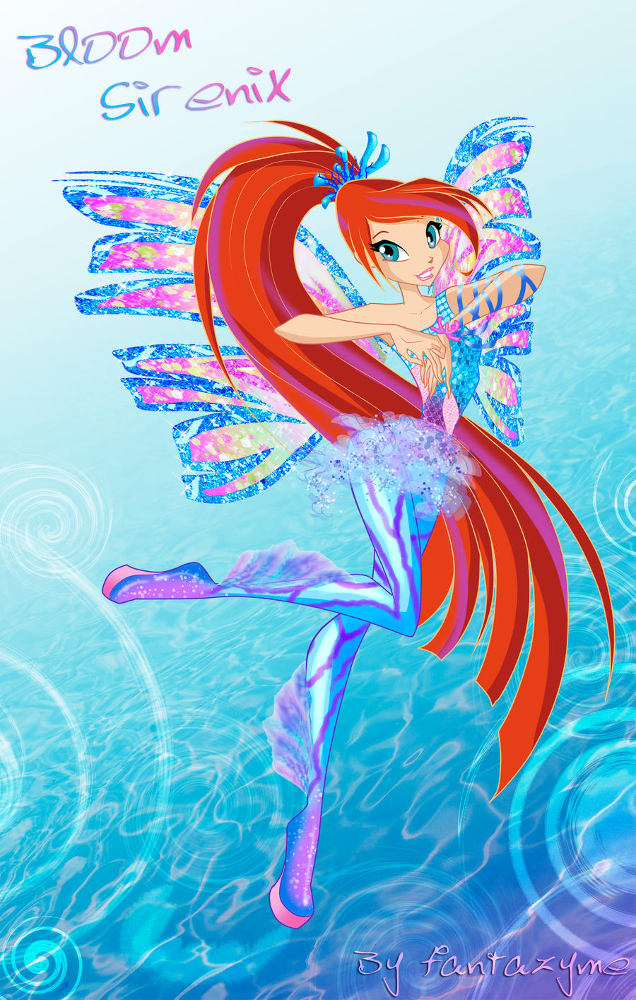 Winx 5 season Bloom Sirenix by fantazyme