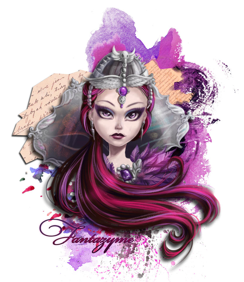 Ever After High - Raven Queen by fantazyme