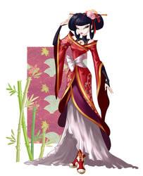 Musa elegant dress by fantazyme