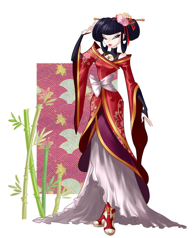 musa elegant dress by fantazyme on deviantart