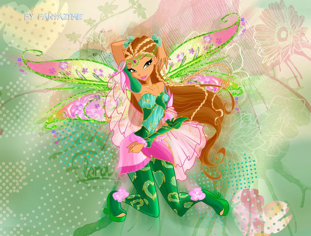 winx club season 6 flora bloomix by fantazyme on deviantart