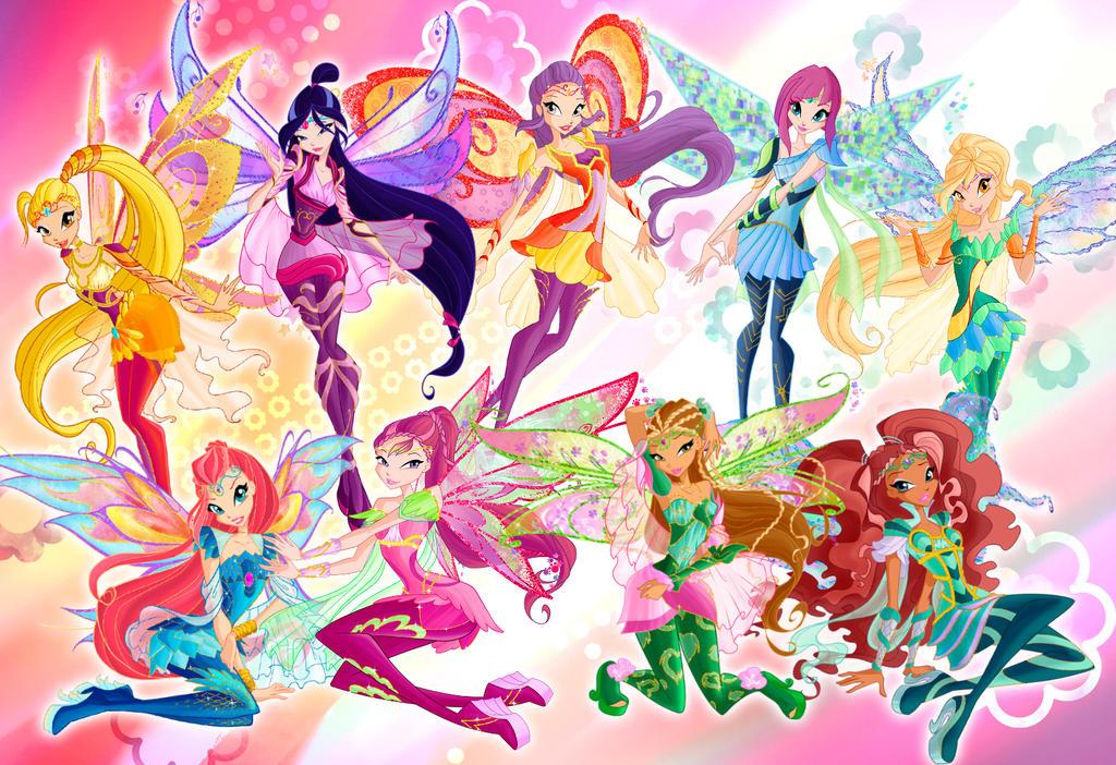 Nouvelles images des poupées Bloomix  Winx Magic Dolls