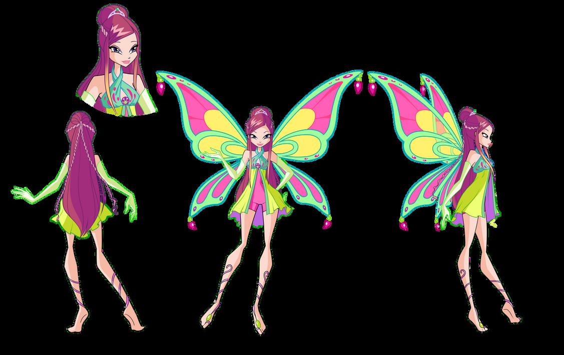 Doll Roxy (Winx) - the fairy of the Earth