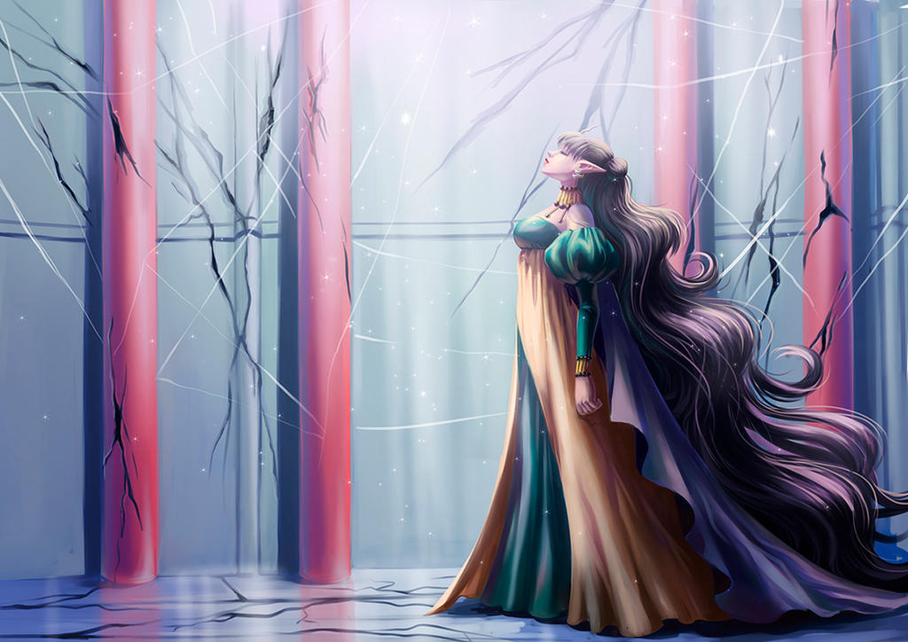 Nehelenia ReDraw by fantazyme