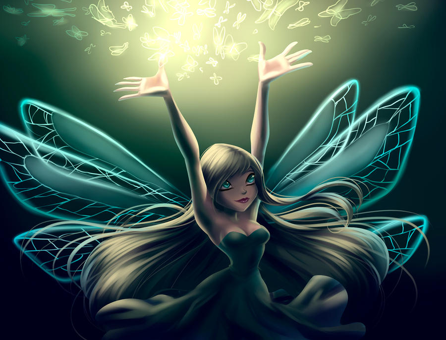 Sky. Real Fairy By Fantazyme On DeviantArt