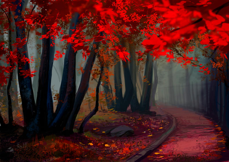 Autumn Forest by fantazyme