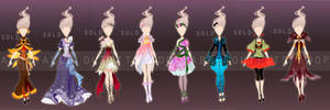 Flower fashion collection - Auction (Closed)