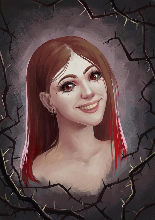 Girl portrait by fantazyme