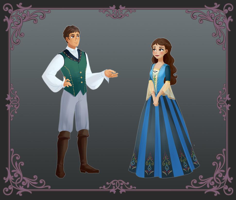 Commission: Leone and Natalia by fantazyme