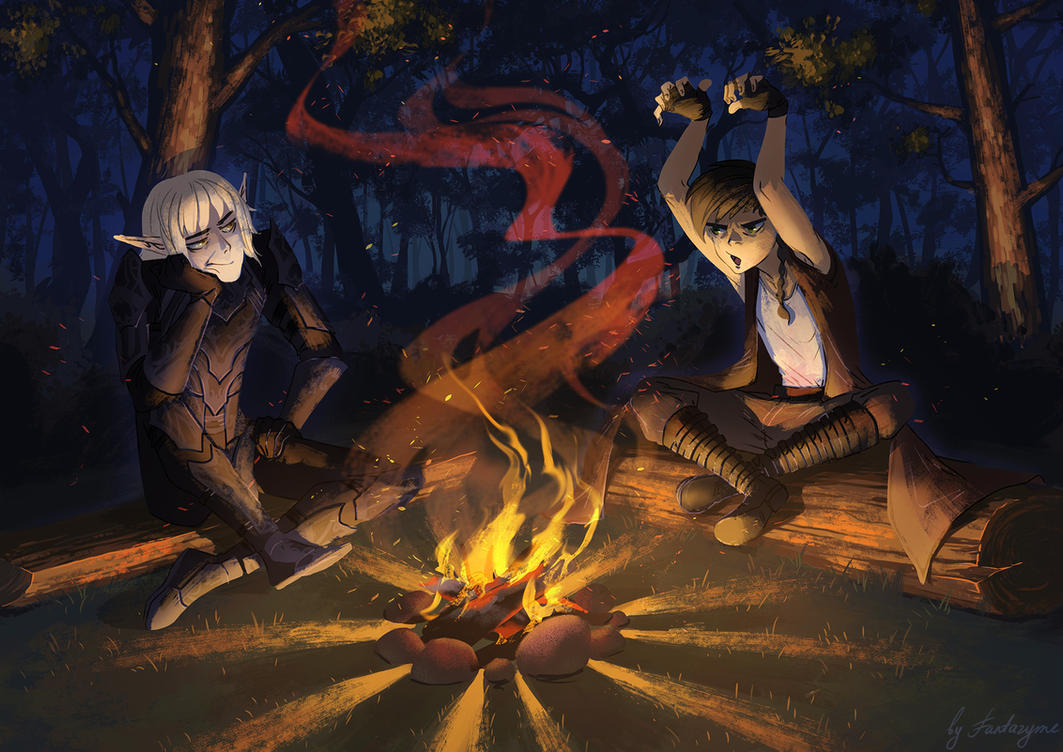 Campfire stories by fantazyme