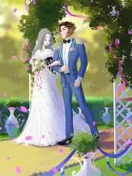 YCH: Wedding by fantazyme