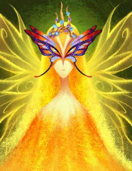Golden dust fairy queen