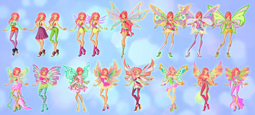 Ayana transformation pack by fantazyme