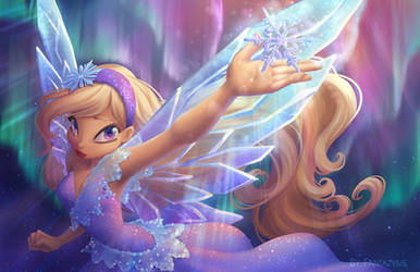 Commission: Elizabeth real fairy by fantazyme