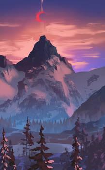 Art study - Mountain
