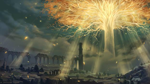 The Elden Ring - Yggdrasil