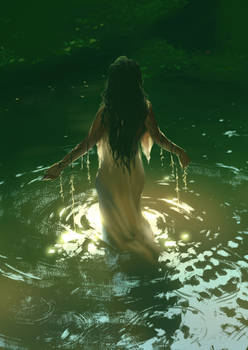 Water Nymph - Art Study