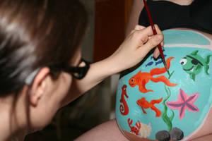 Fish Bowl - Work in Progress by HelgaVelroyen